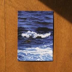 밍키트 코발트 A4 캔버스 포스터