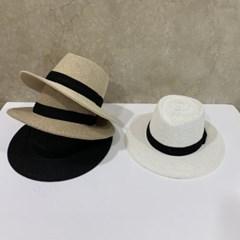 검정띠 블랙 데일리 꾸안꾸 패션 페도라 중절모 모자