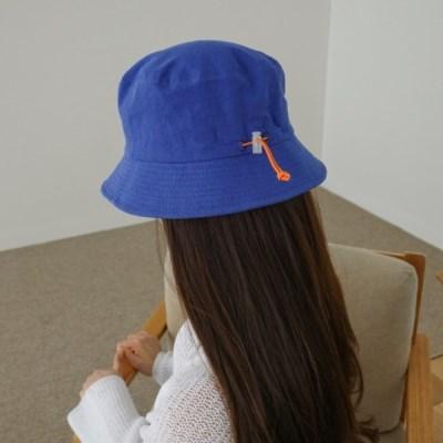 스트링 무지 기본 꾸안꾸 챙넓은 버킷햇 벙거지 모자