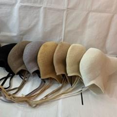 턱끈 오버핏 기본 심플 보넷 버킷햇 벙거지 모자