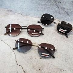패션 골드 블랙 도수없는 가벼운 데일리 선글라스