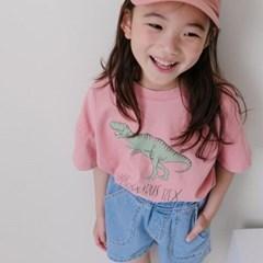 라) S공룡 아동 반팔티