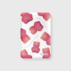 Little fire covy pattern-pink(무선충전보조배터리)_(1894947)