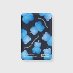 Little fire covy pattern-blue(무선충전보조배터리)_(1894946)