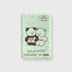 Cookie cream-mint(무선충전보조배터리)_(1894943)