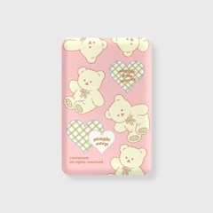 Magic merry pattern-pink(무선충전보조배터리)_(1894938)