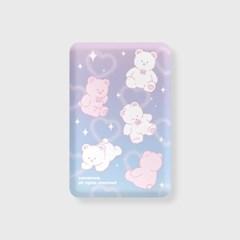 Twinkle merry-purple/blue(무선충전보조배터리)_(1894936)