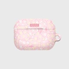 Soft together bear-pink(에어팟프로 하드)_(1894500)