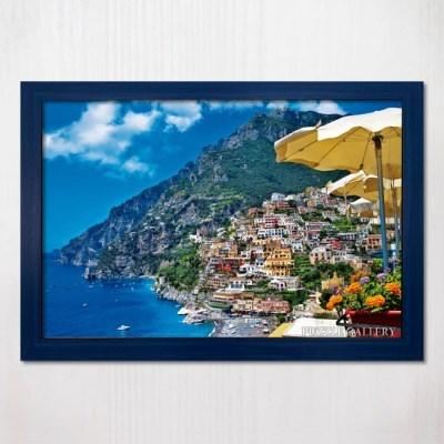 1000피스 직소퍼즐 아름다운 포시타노 풍경 우드블루액