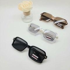 자외선차단 도수없는 가벼운 사각 데일리 선글라스