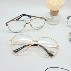 보잉 블랙 골드 심플 도수없는 가벼운 패션 안경