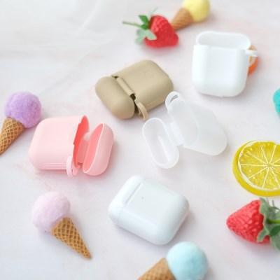 무지 실리콘 컬러 버즈 에어팟 에어팟프로 케이스