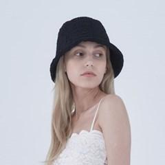 candyfloss Hat - black