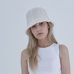 candyfloss Hat - ivory