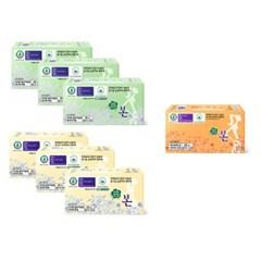 유기농본 생리대 중/대형3팩+소형1팩