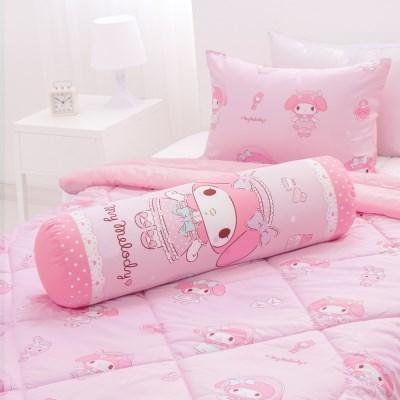 마이멜로디 레이디 핑크 원형 바디필로우