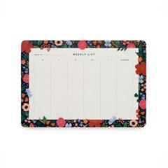 Wild Rose Weekly Desk Pad 위클리 플래너