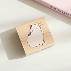 고양이 메모지 스탬프 060-ST-0022