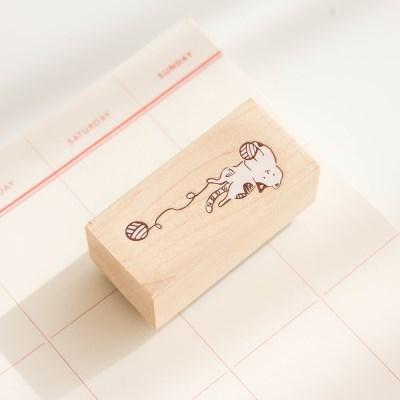 고양이 밑줄용 스탬프 035-ST-0002