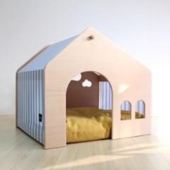 빌라 1.8X 중대형 강아지집 펫하우스 원목 강아지집