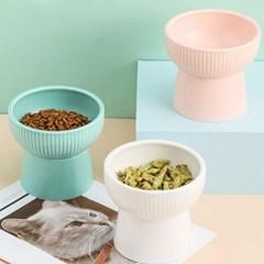 강아지밥그릇, 애견식기 도자기 고양이 밥그릇 세라믹 식기 물그릇