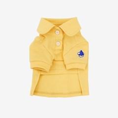 PK 반팔 카라 티셔츠 (옐로우)