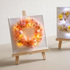 전구벚꽃캔버스set 25cmP(이젤증정) 조화 장식 FMFUFT