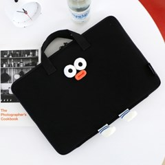 Brunch Brother 폼폼 와이드 13형 노트북 파우치