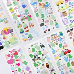 RoomRoom seal stickers 65-72