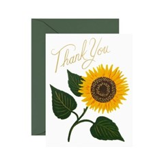 Sunflower Thank You 감사 카드_(496646)