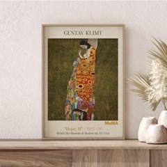 전시회 포스터 그림 액자 구스타프클림프 희망몬