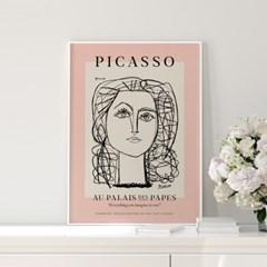 전시회 포스터 그림 액자 피카소 퀸