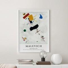 전시회 포스터 그림 액자 말레비치 비트