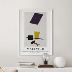 전시회 포스터 그림 액자 말레비치 드롭