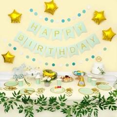 생일파티 4인-10인 패키지 [해피벌스데이 민트톤] (테이_(12229721)