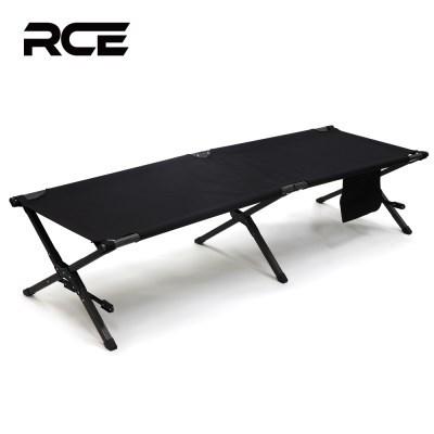 RCE 접이식 캠핑 블랙코트 야전 침대 블랙