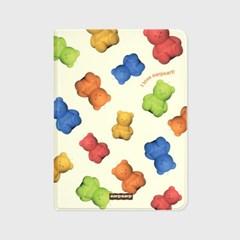 Little fire covy pattern-colorful(아이패드-커버)_(1900106)