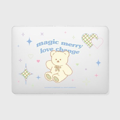 Magic merry-clear(맥북-투명)_(1900055)