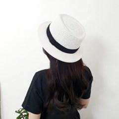 띠 챙넓은 꾸안꾸 데일리 패션 중절모 페도라 모자
