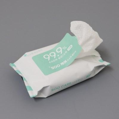 수련 수케어 항균 손소독티슈 20매 X 10팩