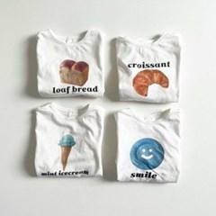 디그린-네모 전사 아동 반팔 티셔츠