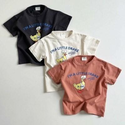 디그린-오리 아동 반팔 티셔츠