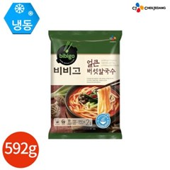 CJ 고메 얼큰 버섯 칼국수 592 x 2봉 (4인분)