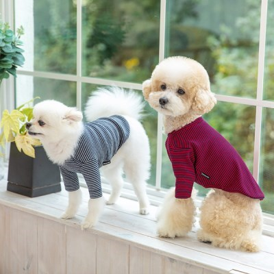 [펫츠랜드] 강아지옷 예쁜강아지옷 강아지봄옷 크레페 티셔츠