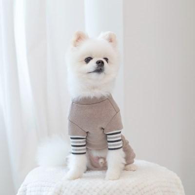 [펫츠랜드] 강아지올인원 밀크코코아 올인원 강아지옷