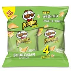 프링글스 미니 양파맛(35gx4) 140g x 2개