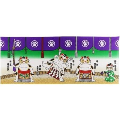 복을 부르는 마네키네코 벽면 장식용천(스모)-172961