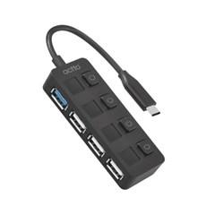 엑토 C타입 USB 3.2 & 2.0 개별 전원 멀티허브 HUB-41
