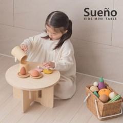 [꼬메모이] 수에노 미니 테이블 / 유아 간식상 공부상