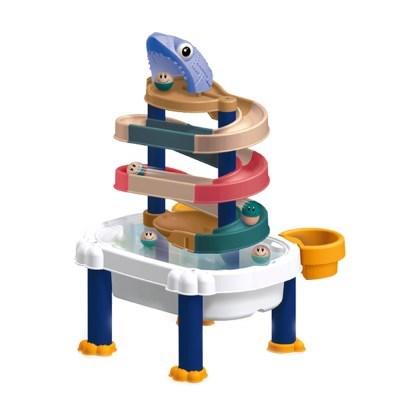 레츠토이 워터슬라이드 타워 레일 장난감 유아 목욕놀이